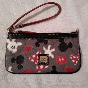 Dooney & Bourke Mickey/Minnie Wardrobe Wristlet